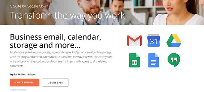 G Suite by Google Cloud now with annual billing and WHMCS